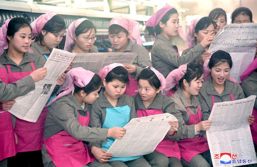 presse nord coreenne